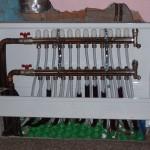 Collettore per impianto a pannelli radianti