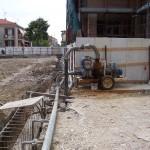 ROSETO DEGLI A. - impianto wellpoint per realizzazione parcheggio interrato