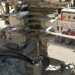 Trivella per inserimento sonda geotermica