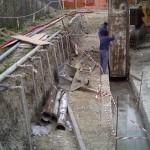 ROSETO DEGLI A. - impianto wellpoint per la realizzazione di un sottopasso